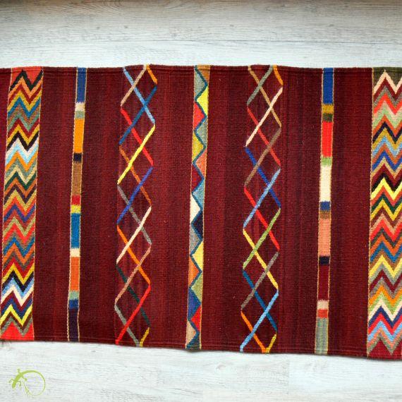 laceiba arts kunsthandwerk aus mexiko mexikanischer teppich kundenauftrag teppich 200 x 80. Black Bedroom Furniture Sets. Home Design Ideas